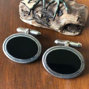 Vintage BARSE Sterling Silver Cufflinks